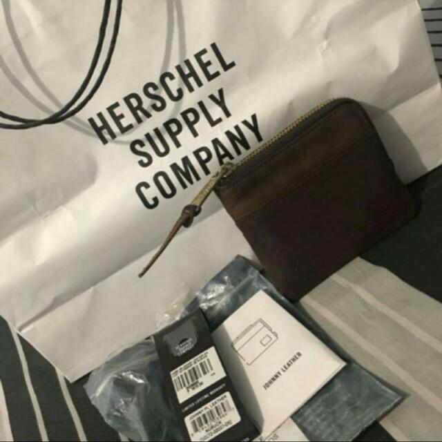 Herschel Soft Leather Wallet #freeshipping