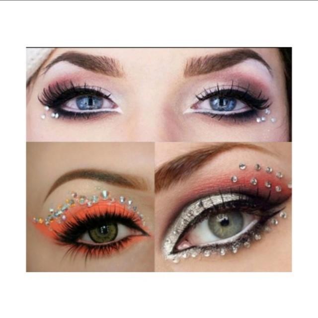 Hot Jewel Eyes Makeup Crystal Eye
