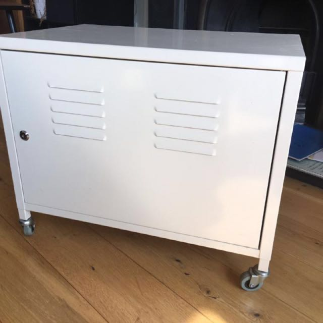 Ikea Ps Metal Cabinet White Furniture