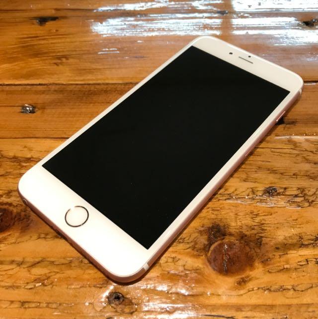 iPhone 6S Plus 玫瑰金