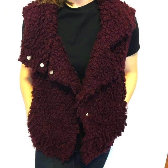 IRO Catleen knitted vest