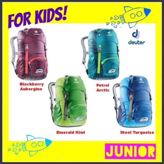 5751f8e05258 👱KIDS!👱 Deuter JUNIOR Backpack Daypack Bag Age 5 - 7