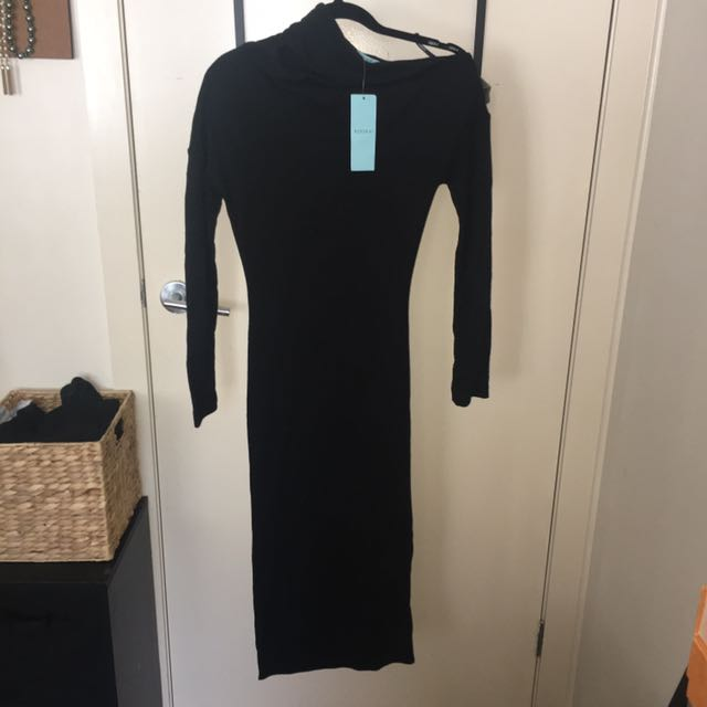 Kookai Merino Wool Midi Dress