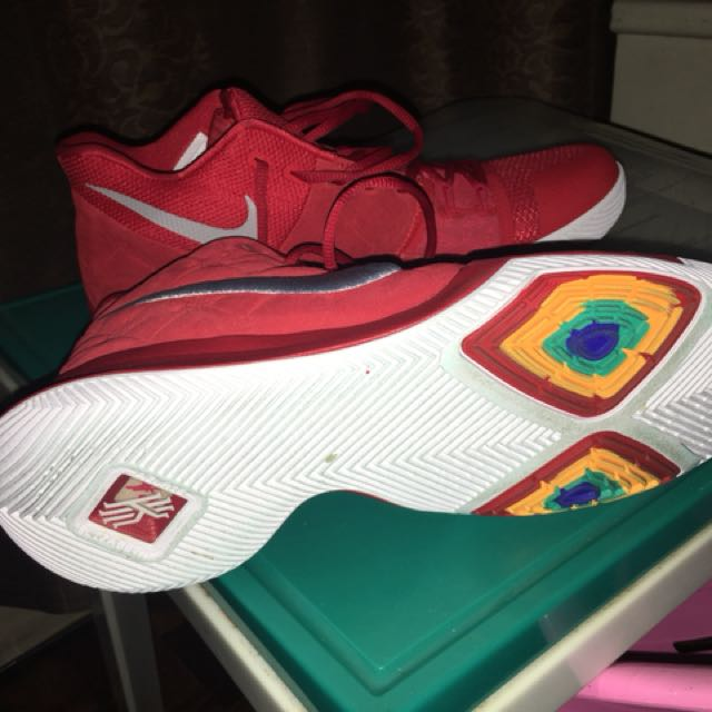 Kyrie 13 red