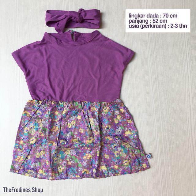 Lania Purple Dress (NEW-No Label)