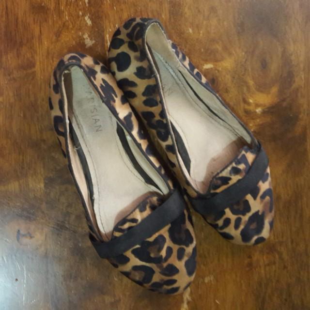 Leopard print parisian doll shoes