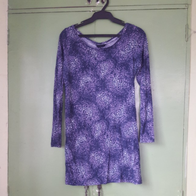 Long sleeved bodyfit dress