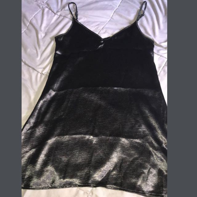Loving Things • Black slip dress