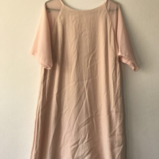 Lulu And Rose Pink Dress