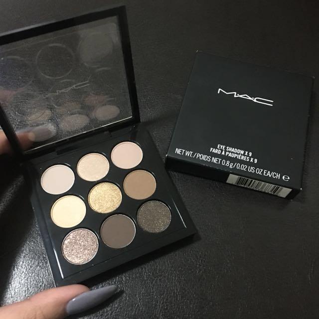 Mac - Eye palette Amber times nine