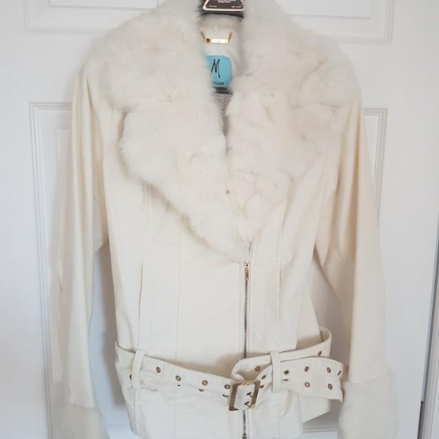 Marciano Fur Jacket