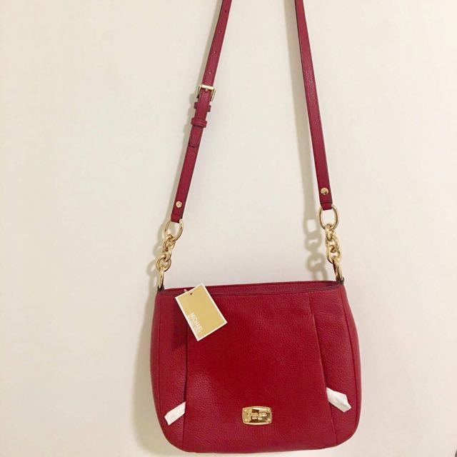 Michael Kors Red Sling