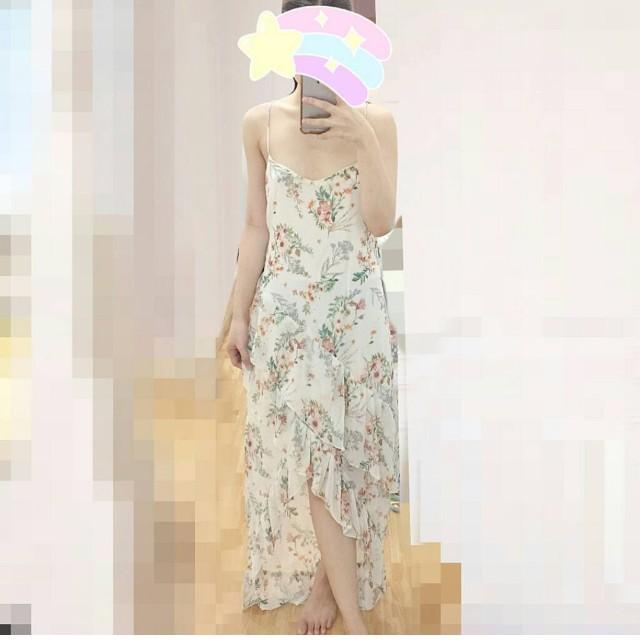 F21 Midi floral dress