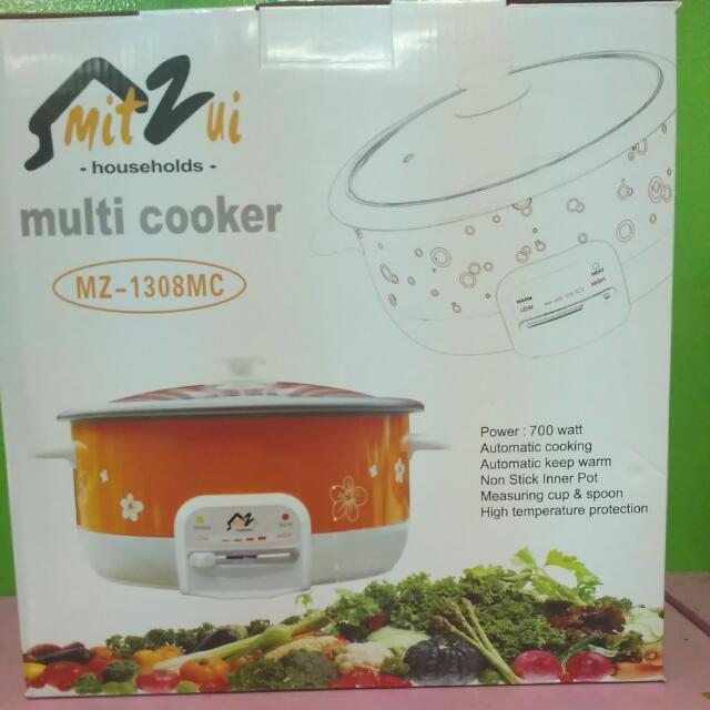 Multi Cooker Mitzui (Praktis bisa di bawa Kemana2 Tanpa Gas)