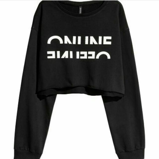 Need H&M sweater crop