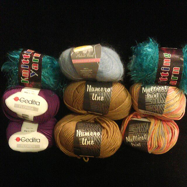 New Assorted Yarns