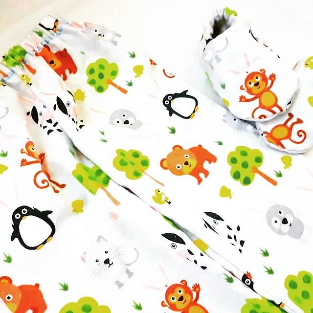 [NEW] [HANDMADE] Flannel Baby Set