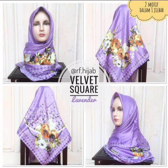 NEW! Premium Velvet Square