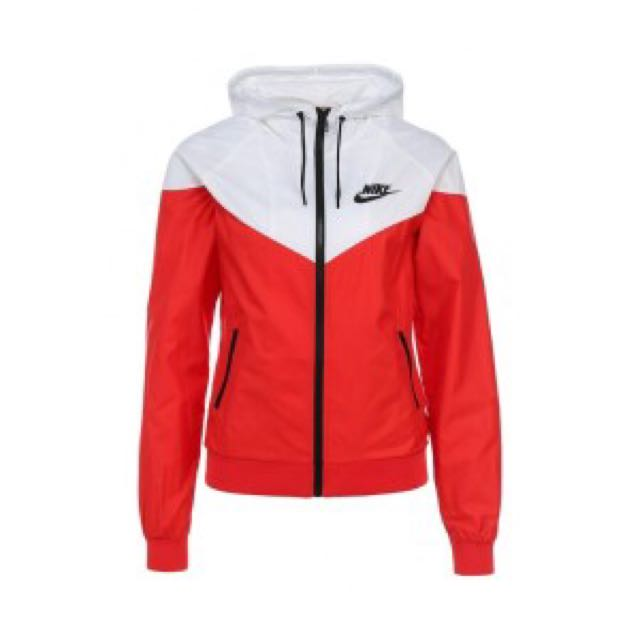 9e134dec8ce9 Nike - Windbreaker (Red and White)