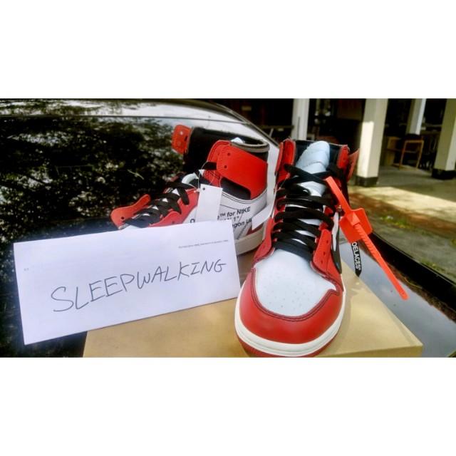 A New Pair of Off White x Air Jordan 1s Might Drop Soon
