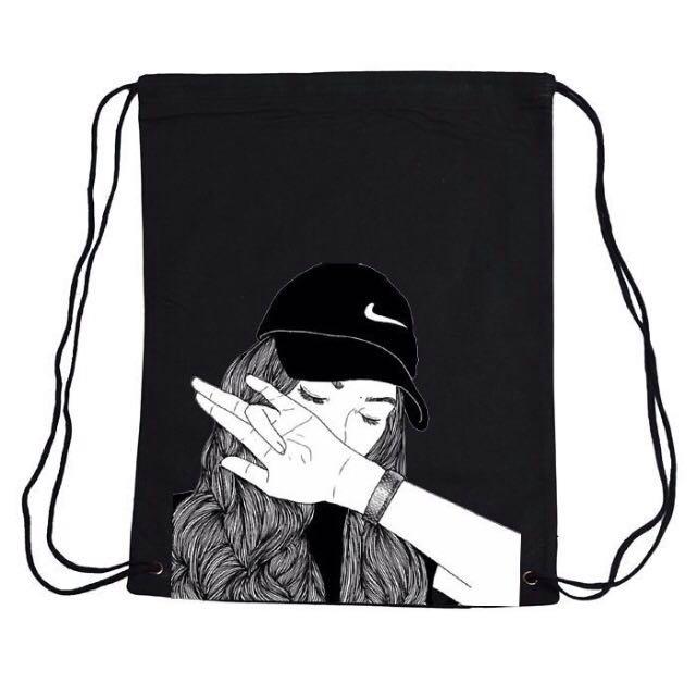 997c084161 Nike Drawstring Bag Black