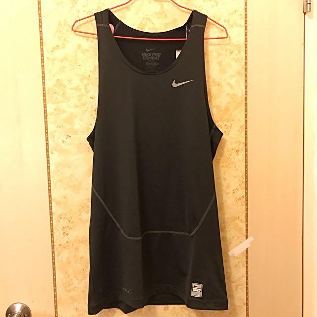 Nike Dri-Fit 男 合身 運動衣 訓練衣 背心 《現貨》