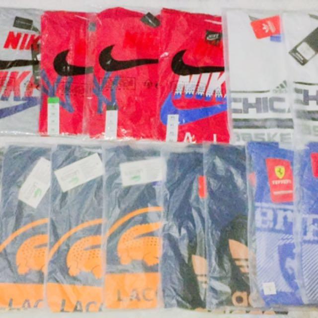 Nike lacoste adidas ferrari shirts