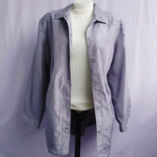 pale gray jacket