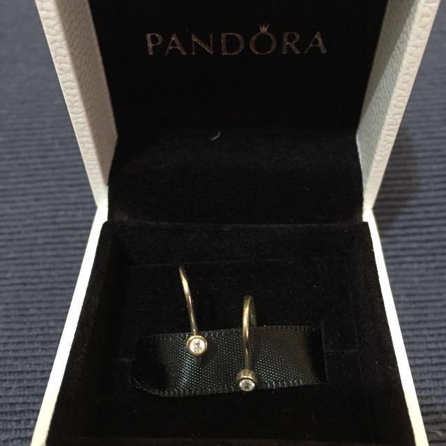 Pandora sparkling earring hook