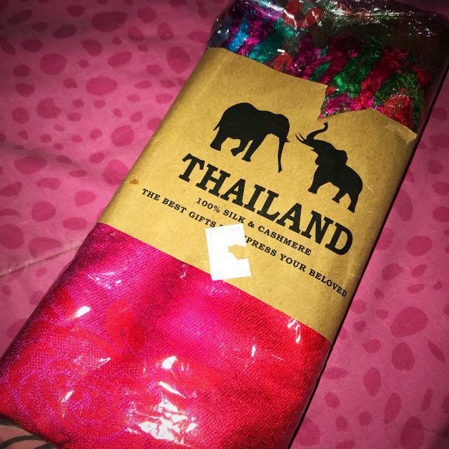 Pashmina Thailand Silk & Cashmere