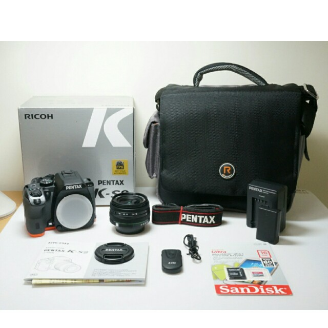 Pentax K-S2 (Body +Lens) - Rain Proof / WiFi