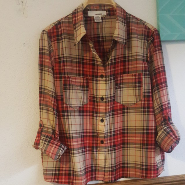 Plaid longsleeves