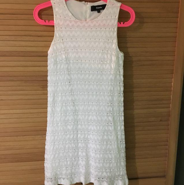 Pomelo lace dress