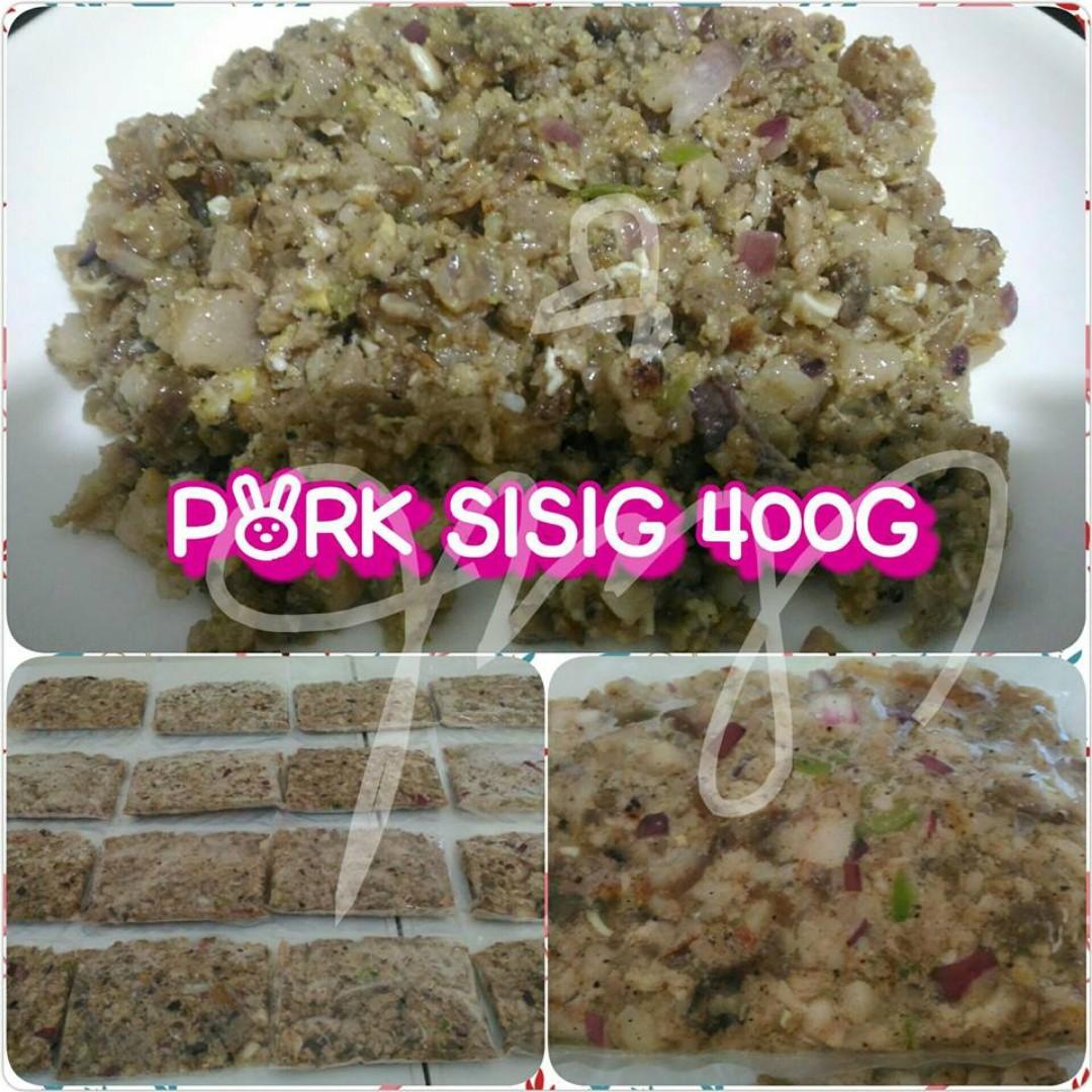 PORK SISIG (400G)