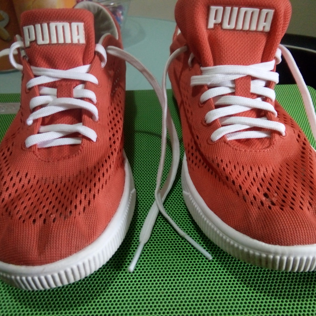 SALE !! Puma Womens Orange Sporty Shoes, size 8.5 US