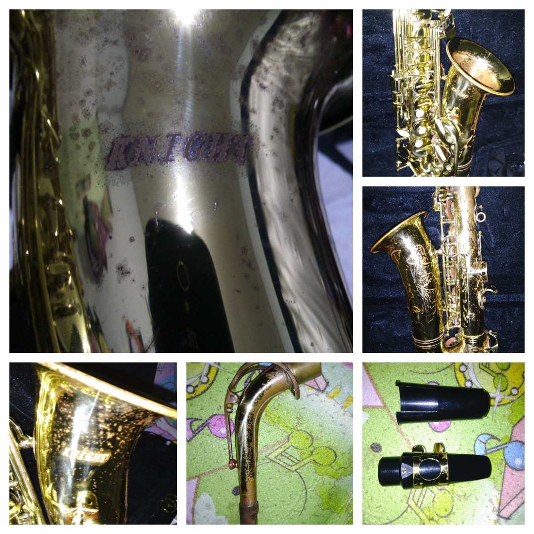 Saxophone alto second