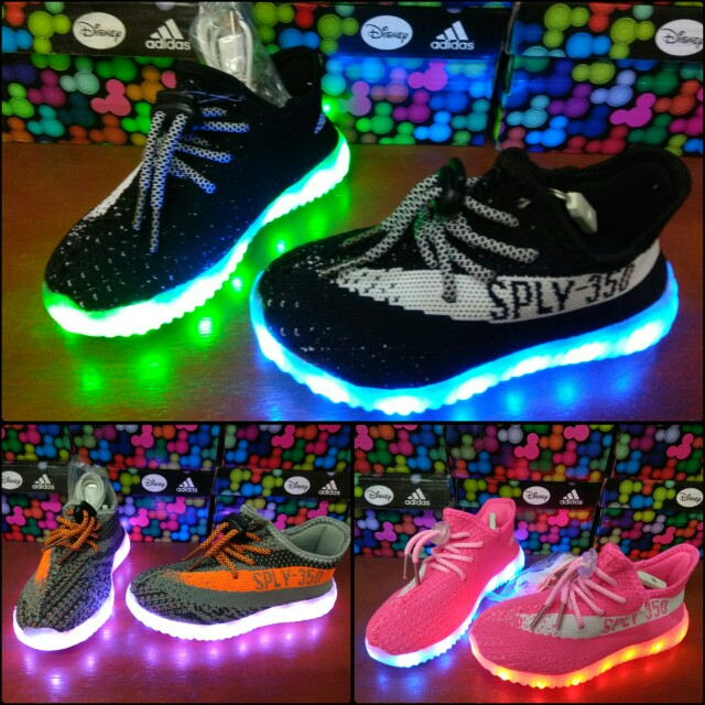 new concept 25300 bb8bf Sepatu Adidas Yeezy Kids Import Quality - Sepatu Adidas LED Anak Import  Adidas Kids Sneakers anak Sepatu anak Kids shoes Adidas kids Sepatu LED anak,  ...