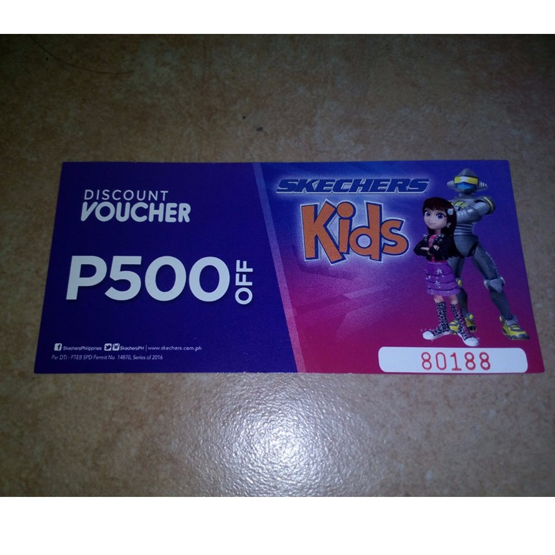 Sketchers Kids Voucher