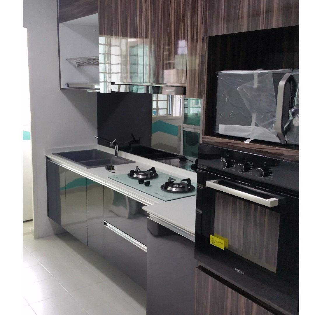 Stainless Steel Kitchen Cabinets, Furniture, Shelves & Drawers on Carousell