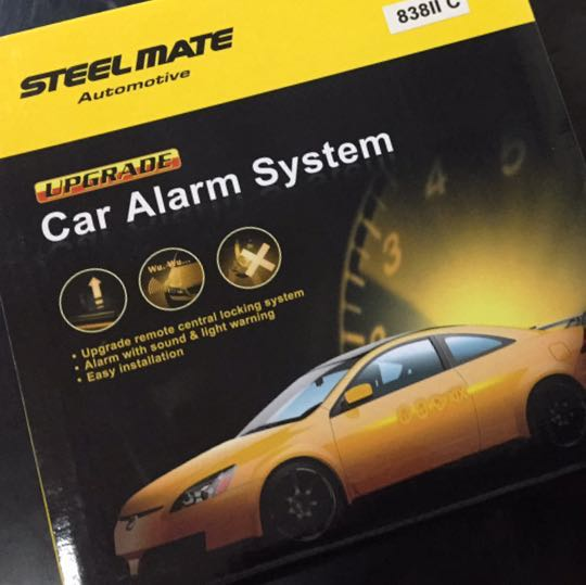 Steelmate One Way Integrated Car Alarm Upgrade ( Brand New