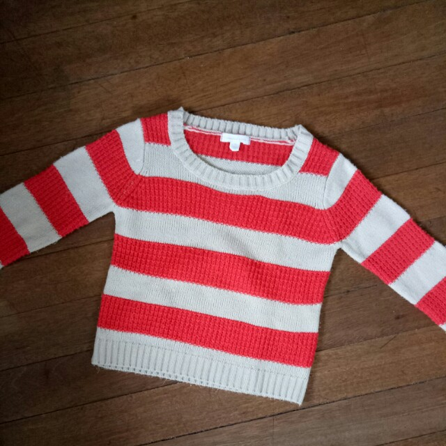 Stripes Knit Sweater