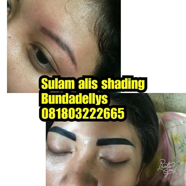 Sulam alis shading