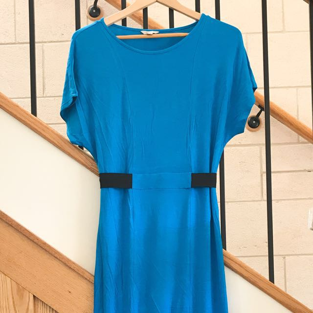 Ted Baker turquoise maxi dress Size1