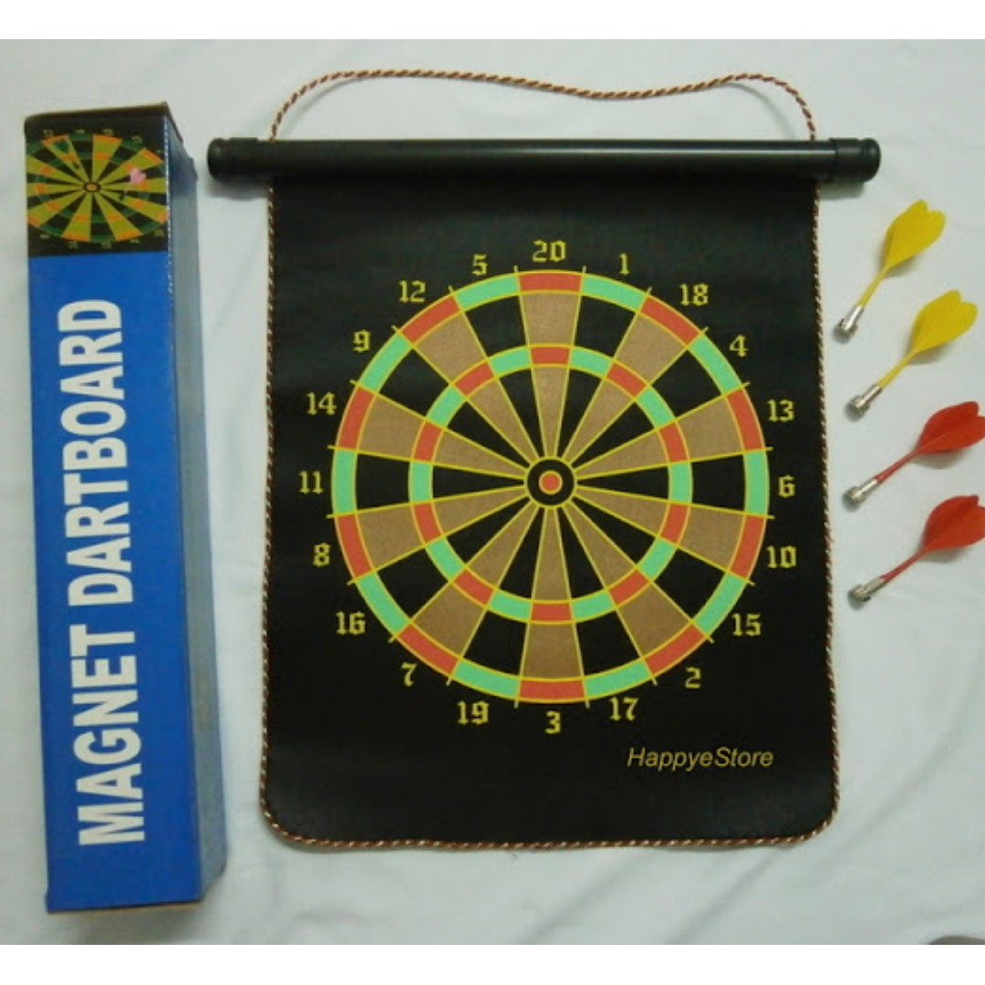 TH042 Double Sided Magnetic Dart game set (Free 4 darts)