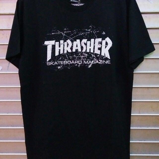 THRASHER TSHIRT (MIRROR)