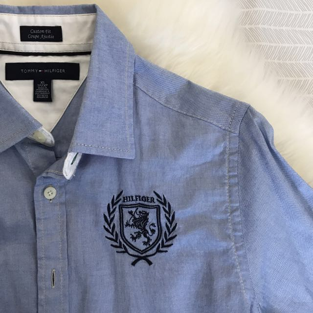 Tommy Hilfiger boyfriend dress shirt