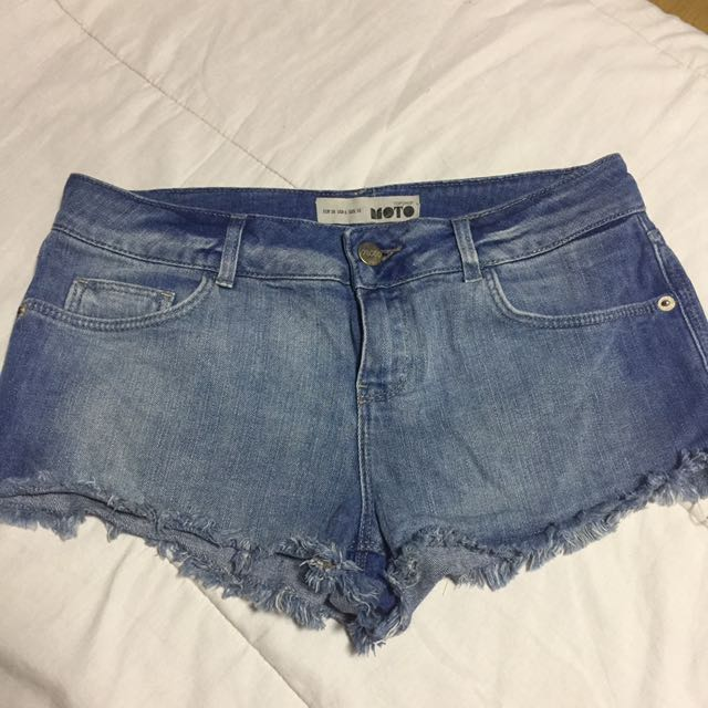 Topshop Moto shorts made in egypt