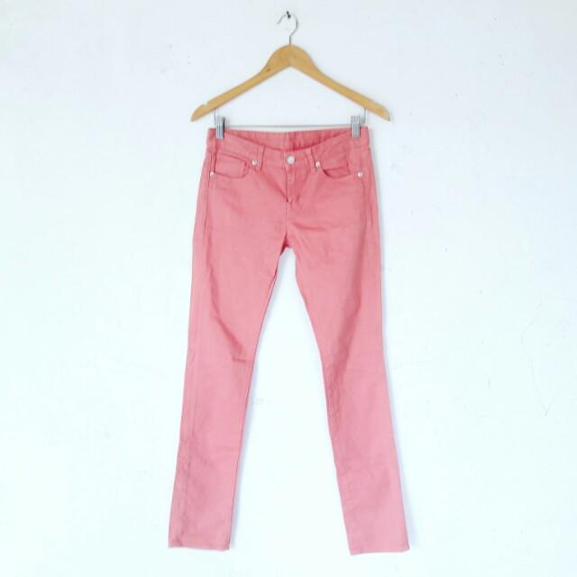 Uniqlo Pink Jeans