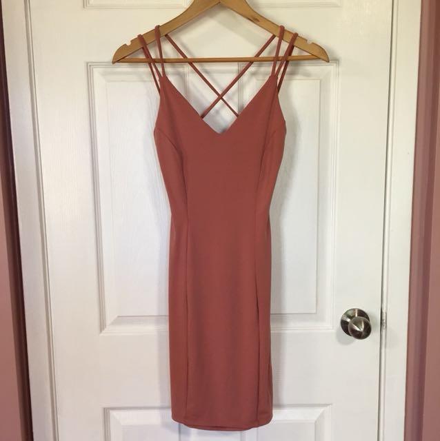 Urban Planet Bodycon Dress (Small)
