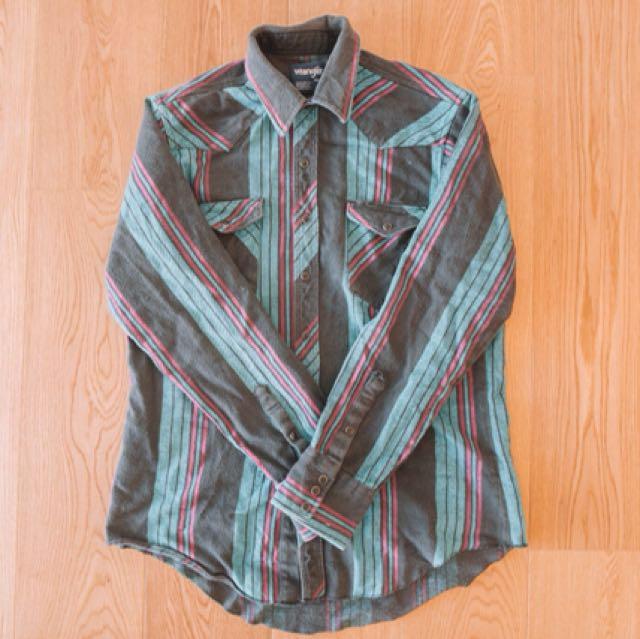 Vintage Button Up Jacket